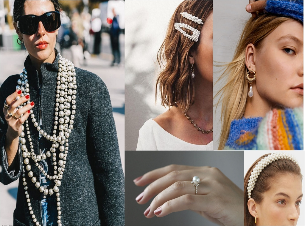 jewellery - Pearl trend - A REVIEW OF SIX NEW JEWELLERY TRENDS OF SPRING/SUMMER 2020