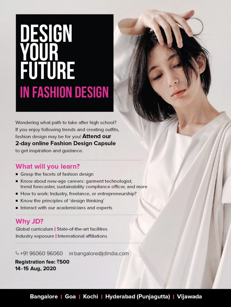 jd institute of fashion technology - emailer fashion 770x1024 - Learn Fashion Design in a Capsule