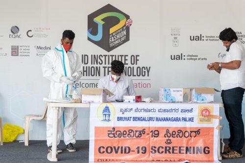 Covid-19 testing camp classroom learning - Covid 19 testing camp 500x333 - Classroom learning finally resumes at JD Institute after reopening