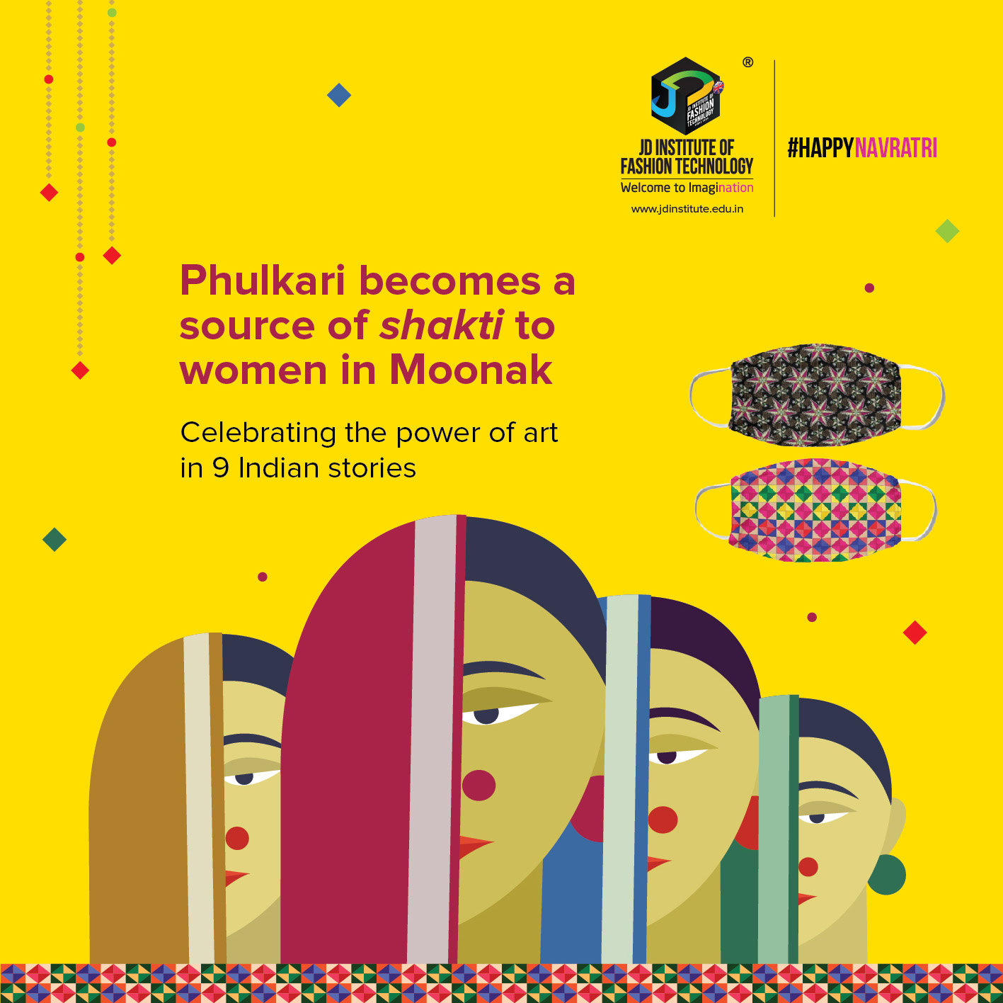 Phulkari sustainability - Phulkari - Sustainability and Revival of Arts and Crafts through a medley of 9 Women Centric Stories
