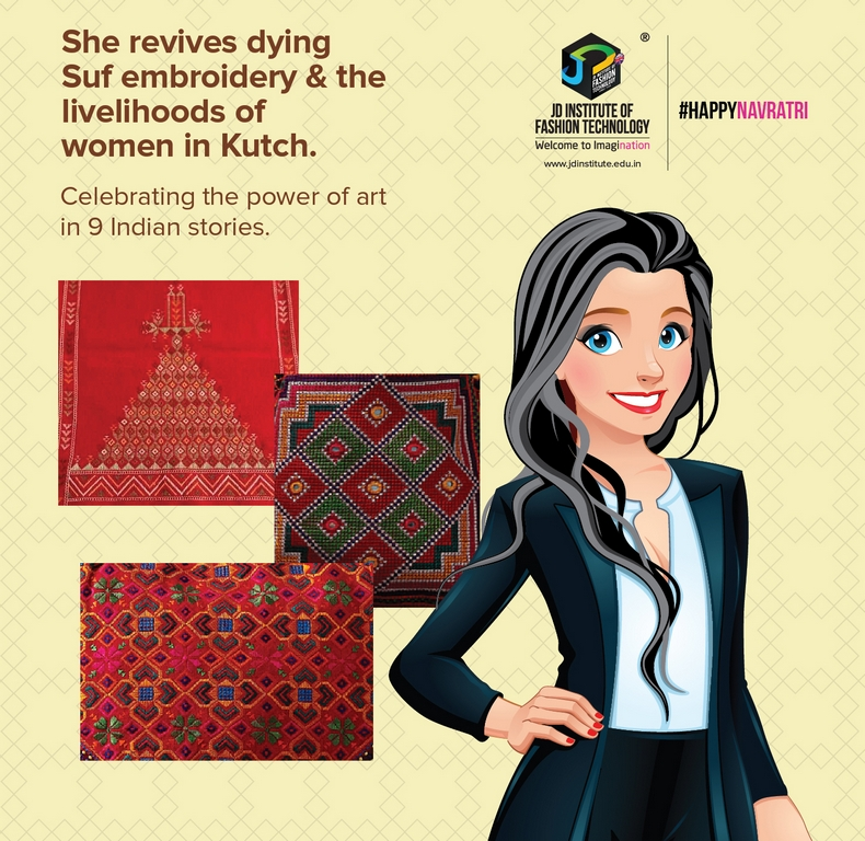 Suf-Embroidery sustainability - Suf Embroidery - Sustainability and Revival of Arts and Crafts through a medley of 9 Women Centric Stories