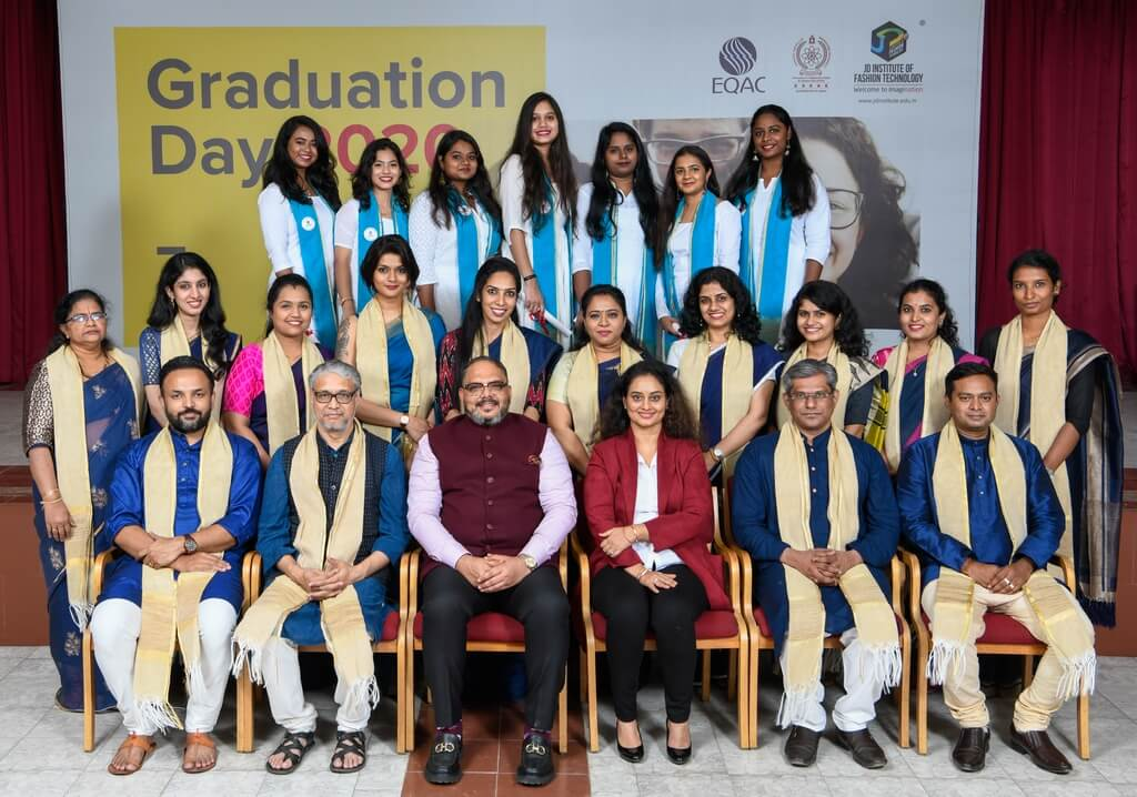 Advanced Diploma in Fashion Design 2017 graduation ceremony - Advanced Diploma in Fashion Design 2017 - Graduation Ceremony for students of JD Institute of Fashion Technology