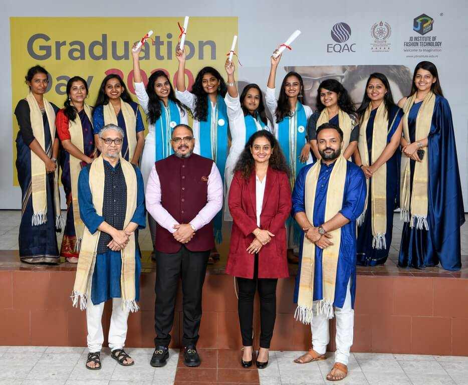 Diploma in Fashion Business Management 2019 graduation ceremony - Diploma in Fashion Business Management 2019 - Graduation Ceremony for students of JD Institute of Fashion Technology