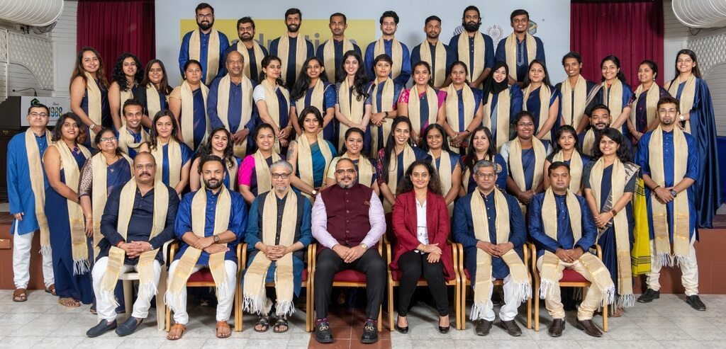 Faculty and Managing Team graduation ceremony - Faculty and Managing Team - Graduation Ceremony for students of JD Institute of Fashion Technology