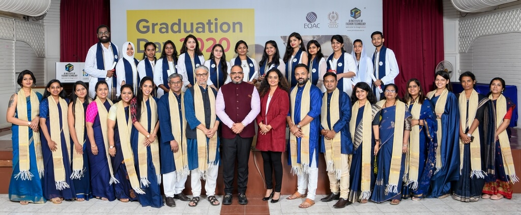 Post Graduate Diploma in Fashion and Business Management 2018  graduation ceremony - Post Graduate Diploma in Fashion Business Management - Graduation Ceremony for students of JD Institute of Fashion Technology