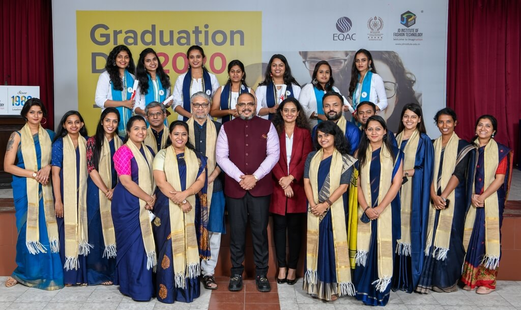 Post Graduate Diploma in Fashion Communication 2018 graduation ceremony - Post Graduate Diploma in Fashion Communication 2018 - Graduation Ceremony for students of JD Institute of Fashion Technology
