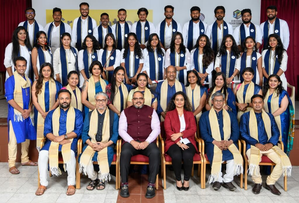 Post Graduate Diploma in Interior and Spatial Design 2018 graduation ceremony - Post Graduate Diploma in Interior and Spatial Design 2018 - Graduation Ceremony for students of JD Institute of Fashion Technology
