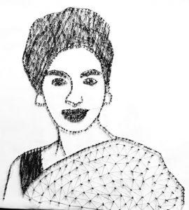 bsc. in fashion and apparel design - Reita Faria 270x300 - BSc. in Fashion and Apparel Design student from JD Cochin sets a record
