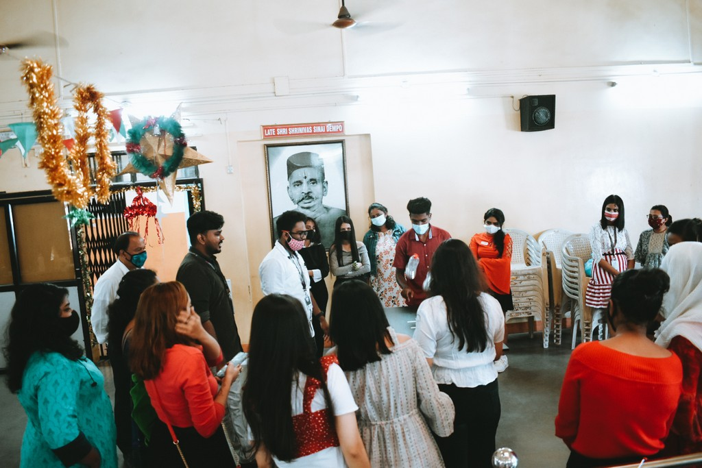 christmas party - Christmas Party - The Christmas Party at JD Institute of Fashion Technology, Goa