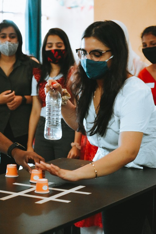 christmas party - Games - The Christmas Party at JD Institute of Fashion Technology, Goa