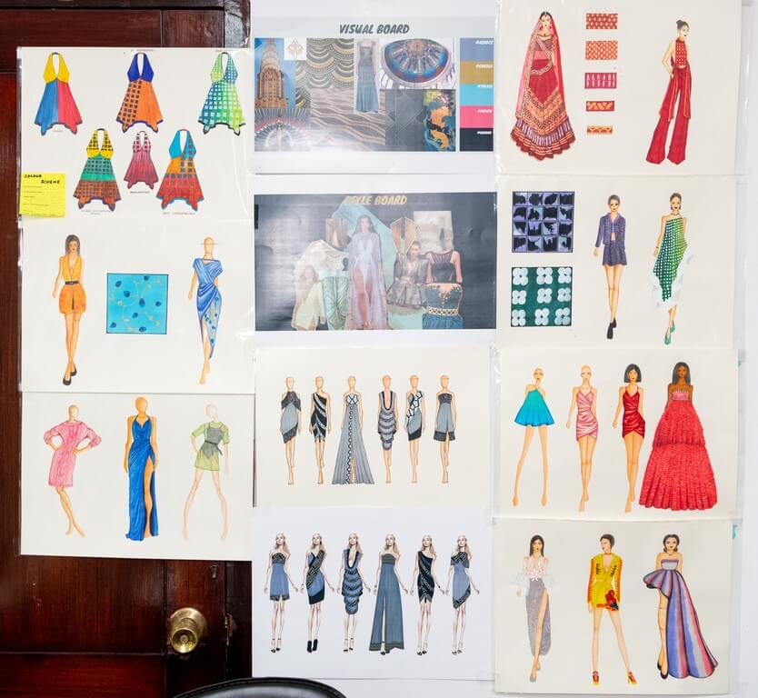 DIPLOMA IN FASHION DESIGN MAKE A CREATIVE SPLASH diploma in fashion design - Illustration Boards 1 - DIPLOMA IN FASHION DESIGN MAKE A CREATIVE SPLASH