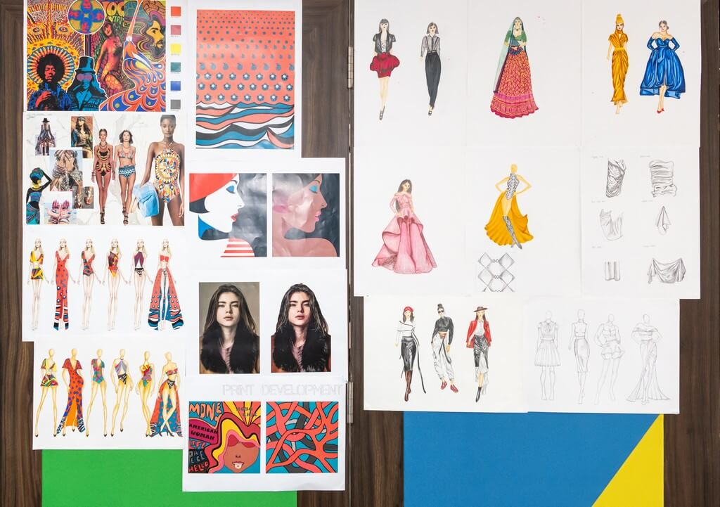 DIPLOMA IN FASHION DESIGN MAKE A CREATIVE SPLASH diploma in fashion design - Illustration Boards - DIPLOMA IN FASHION DESIGN MAKE A CREATIVE SPLASH