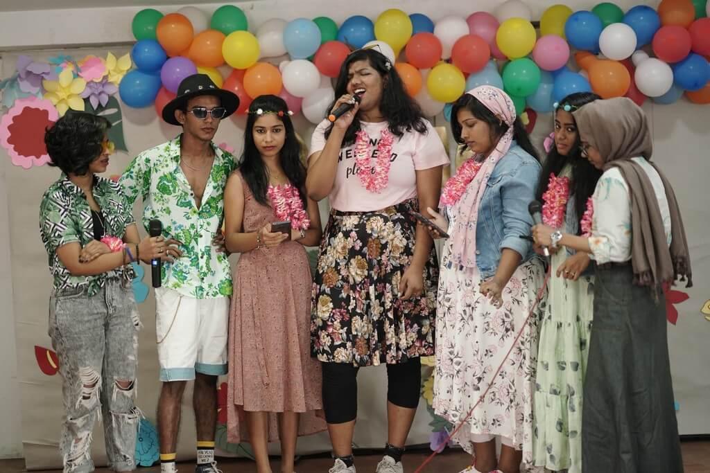 ALOHA 2021 – JD INSTITUTE COCHIN WELCOMES FRESHERS aloha - Group singing - ALOHA 2021 – JD INSTITUTE COCHIN WELCOMES FRESHERS