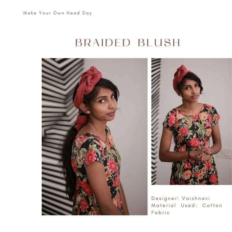 HEADDRESSES FOR EVERY OCCASSION headdresses - Braided Blush - HEADDRESSES FOR EVERY OCCASSION