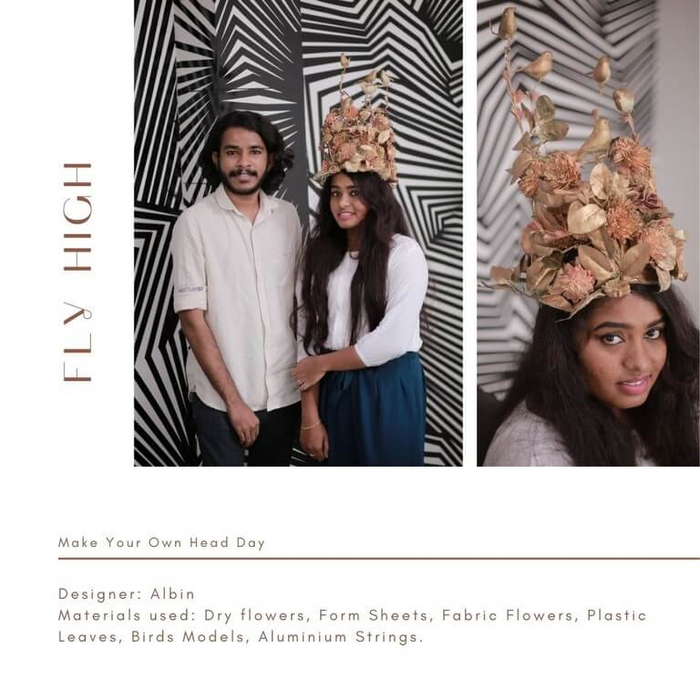 HEADDRESSES FOR EVERY OCCASSION headdresses - Flower headpieces - HEADDRESSES FOR EVERY OCCASSION