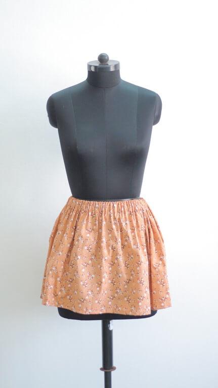 skirts - Gathered Skirt - SKIRTS – Pattern Making & Garment Manufacturing III