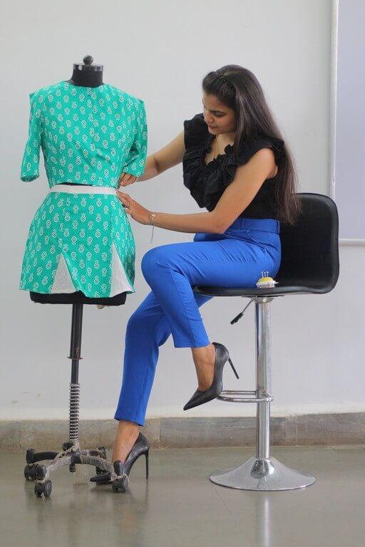 SKIRTS - Pattern Making & Garment Manufacturing III skirts - Godet Skirt - SKIRTS – Pattern Making & Garment Manufacturing III