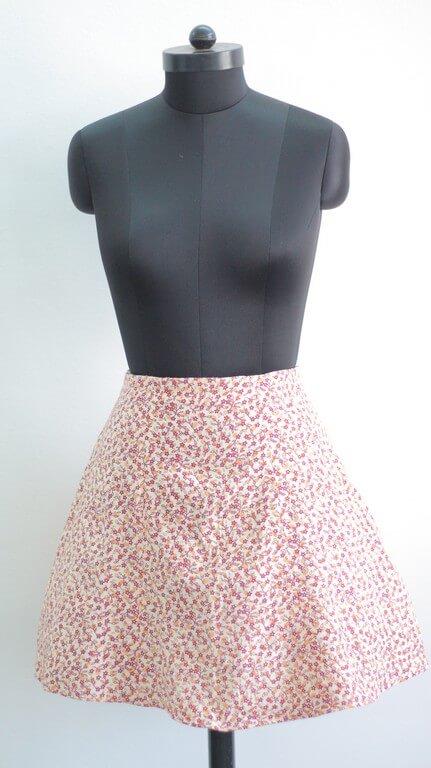 SKIRTS - Pattern Making & Garment Manufacturing III skirts - Gored Skirt 1 - SKIRTS – Pattern Making & Garment Manufacturing III