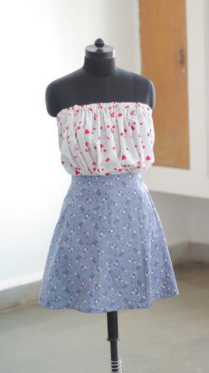 SKIRTS - Pattern Making & Garment Manufacturing III skirts - Gored Skirt 2 - SKIRTS – Pattern Making & Garment Manufacturing III