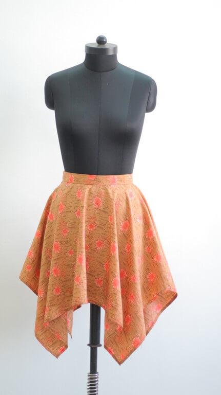 SKIRTS - Pattern Making & Garment Manufacturing III skirts - Handkerchief Skirt - SKIRTS – Pattern Making & Garment Manufacturing III