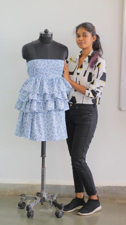 SKIRTS - Pattern Making & Garment Manufacturing III skirts - Ruffled Skirt - SKIRTS – Pattern Making & Garment Manufacturing III