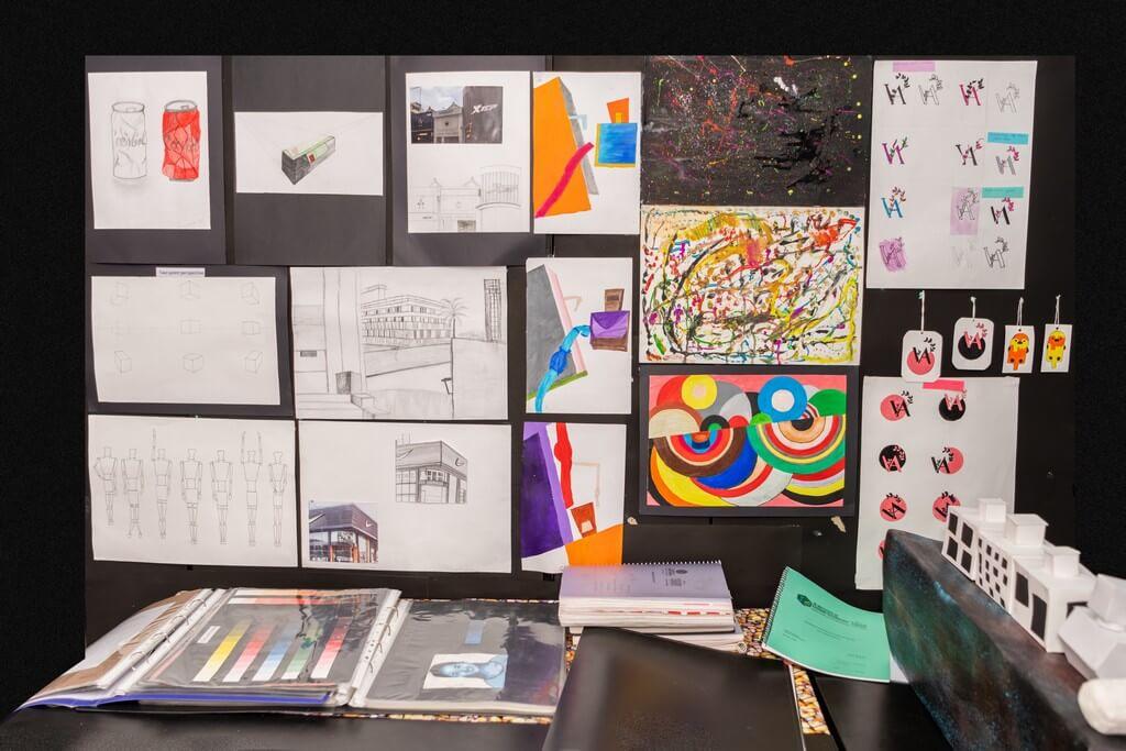 fashion design - Display 3 - Fashion design students from ADFD 2020 batch display their Term 1 work