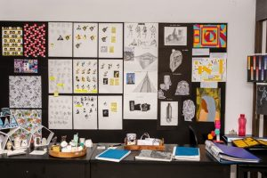 Display of ADFD student advanced diploma in fashion design - Display 300x200 - Advanced Diploma in Fashion Design – 3 Years