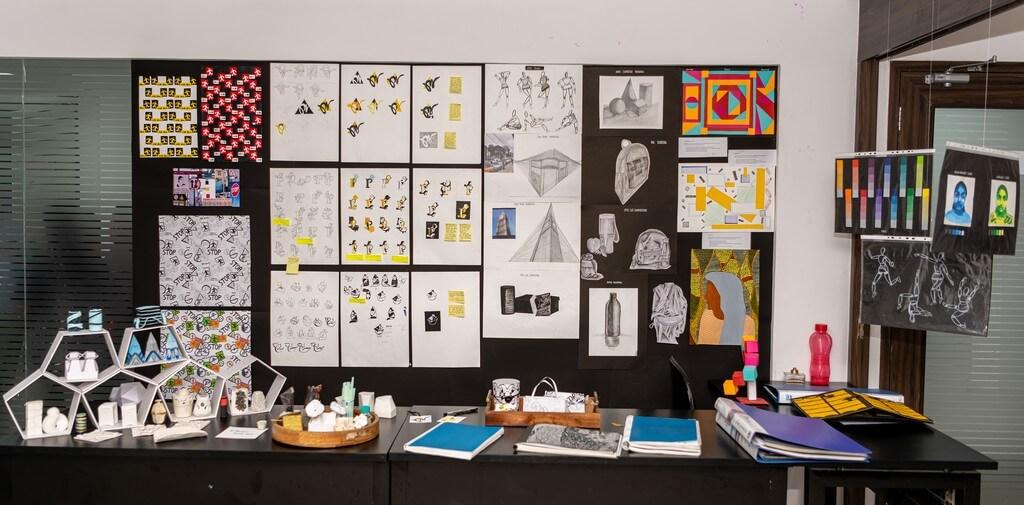Display of ADFD student fashion design - Display - Fashion design students from ADFD 2020 batch display their Term 1 work