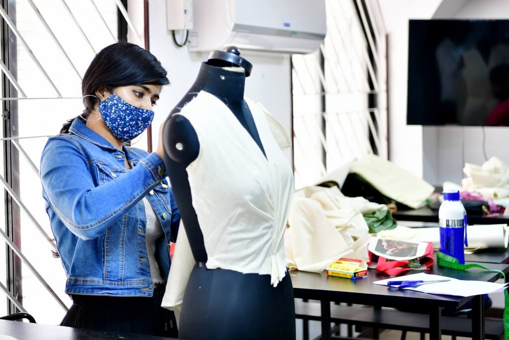 FD - draping india skill development - FD draping - India Skill Development state-level Competition 2021 co-hosted by JD