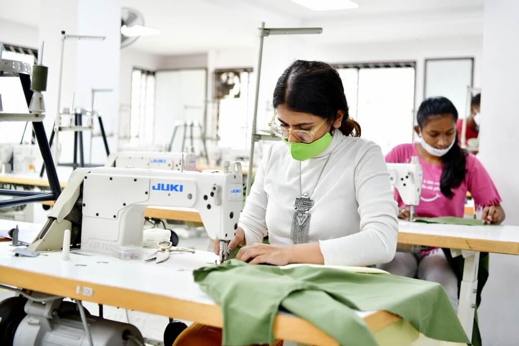 FD - garment construction india skill development - FD garment construction - India Skill Development state-level Competition 2021 co-hosted by JD