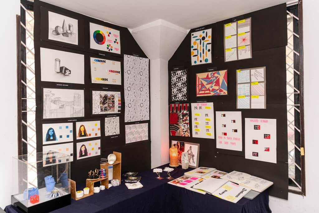 Foundation Art Studies fashion design - Foundation Art Studies - Fashion design students from ADFD 2020 batch display their Term 1 work