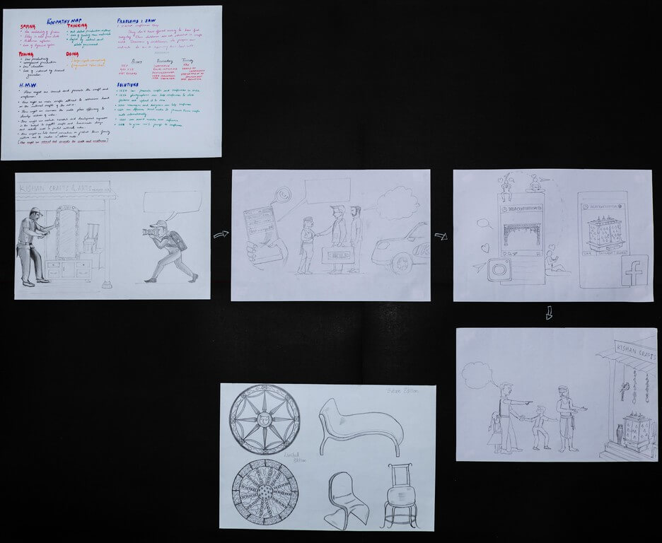 brand prototypes - Illustration - Brand Prototypes with a Spin – Display and Jury by students of PGDFC