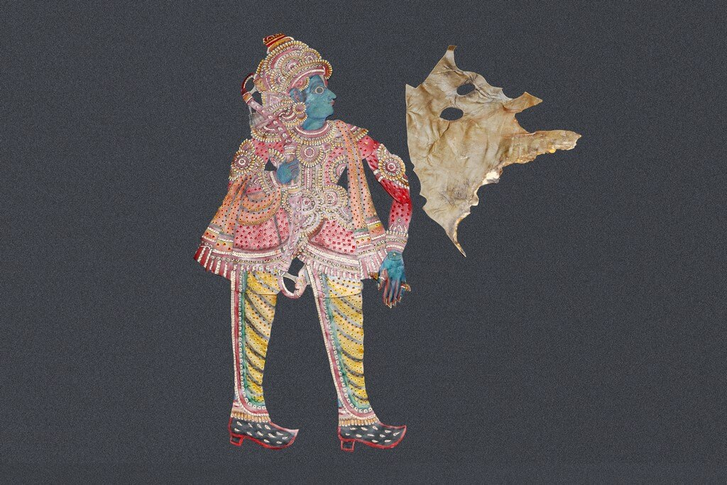Leather puppetry of Karnataka leather puppetry - Leather 1 - Leather puppetry of Karnataka