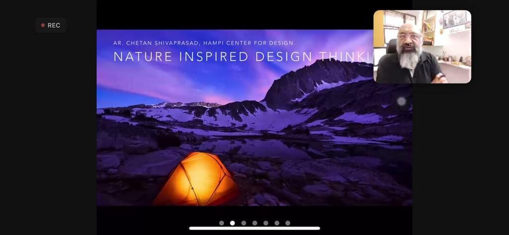 Nature-Inspired Design Thinking: CONV. CONVERSATIONS with Ar.K.S.Chetan nature - Nature Inspired Design Thinking CONV - Nature-Inspired Design Thinking: CONV. CONVERSATIONS with Ar.K.S.Chetan