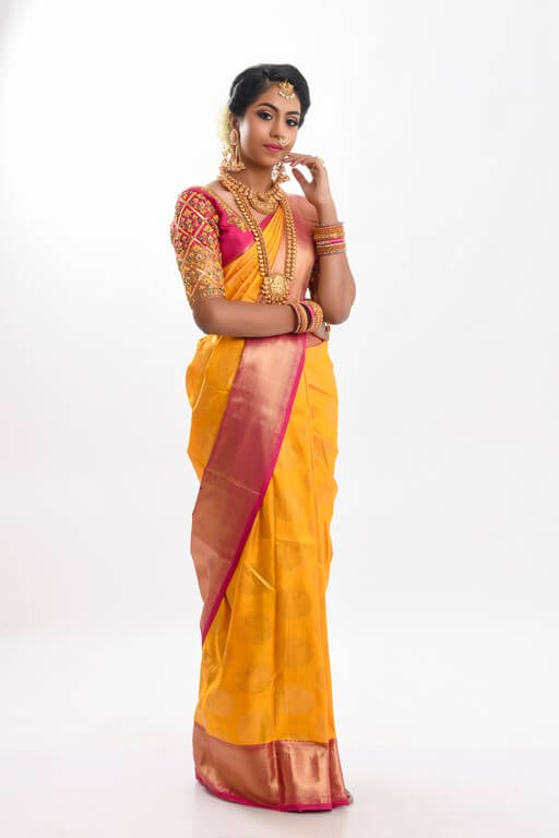 South Indian Bridal Workshop by Guest Faculty –Ms. Naina Singh south indian bridal look - complete look - South Indian Bridal Look Workshop by Guest Faculty –Ms. Naina Singh