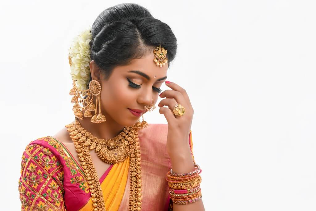 South Indian Bridal Workshop by Guest Faculty –Ms. Naina Singh south indian bridal look - makeup 1 - South Indian Bridal Look Workshop by Guest Faculty –Ms. Naina Singh