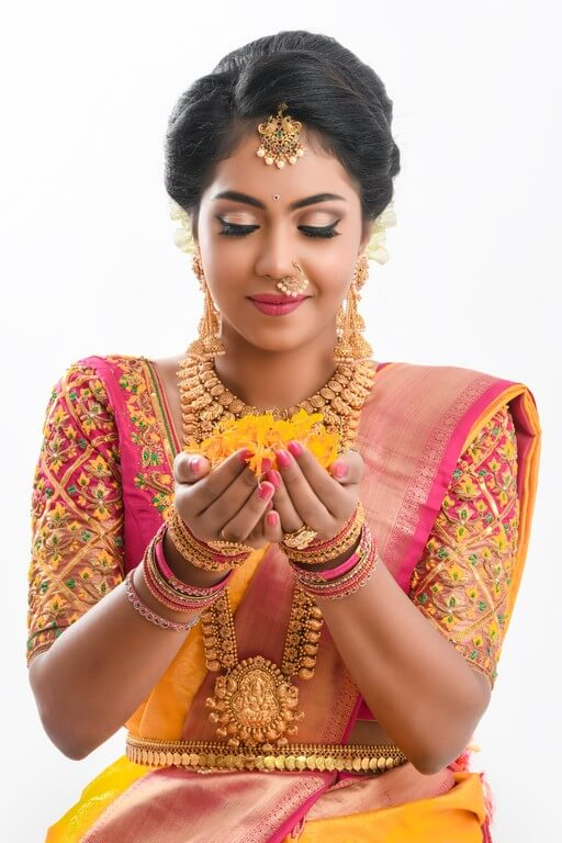 South Indian Bridal Workshop by Guest Faculty –Ms. Naina Singh south indian bridal look - portrait - South Indian Bridal Look Workshop by Guest Faculty –Ms. Naina Singh