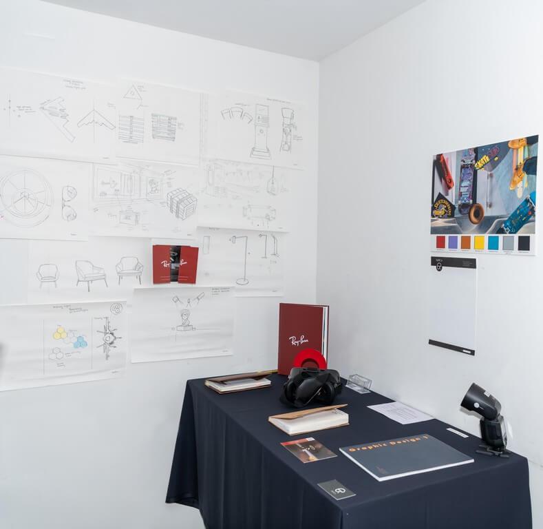 brand prototypes - student term display - Brand Prototypes with a Spin – Display and Jury by students of PGDFC