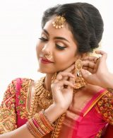 South Indian Bridal Workshop by Guest Faculty –Ms. Naina Singh
