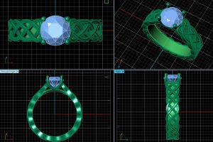 CAD Jewellery Design – Use of Technology in jewellery designing diploma in jewellery design (cad) - CAD 300x200 - Diploma in Jewellery Design (CAD) – 6 Months