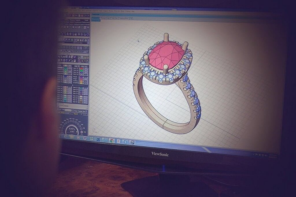 CAD Jewellery Design – Use of Technology in jewellery designing  cad jewellery design - CAD Jewellery Designing - CAD Jewellery Design – Use of Technology in jewellery designing