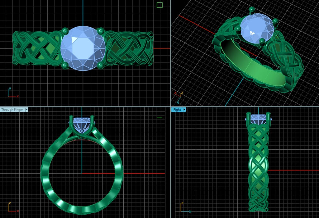 CAD Jewellery Design – Use of Technology in jewellery designing cad jewellery design - CAD - CAD Jewellery Design – Use of Technology in jewellery designing