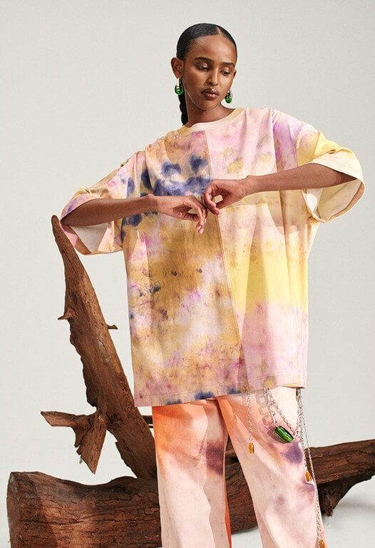 Tie and dye: textiles that are making a comeback during pandemic tie and dye - H M Innovation Campaign 526x768 - Tie and dye: textiles that are making a comeback during pandemic