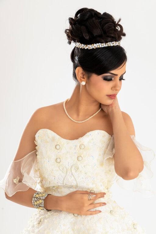 Christian Bridal Look Workshop christian bridal look - Hairstyle 1 - Christian Bridal Look Workshop