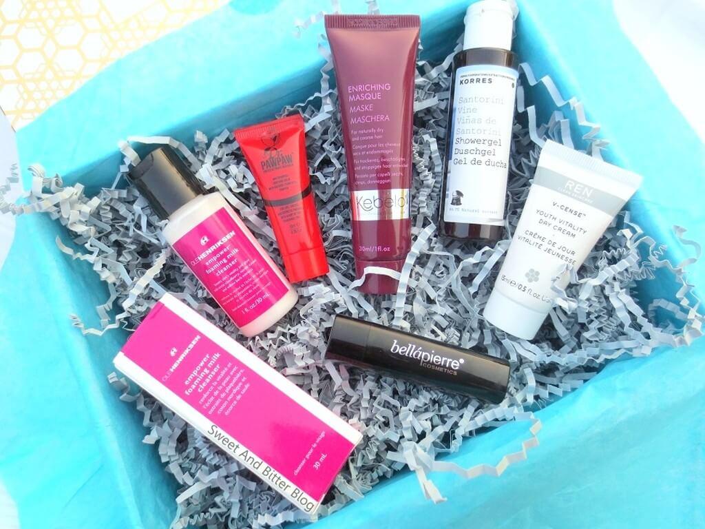 BEAUTY SUBCRIPTION BOXES: TOP 5! beauty subscription boxes - Look fantastic  - BEAUTY SUBSCRIPTION BOXES: TOP 5!