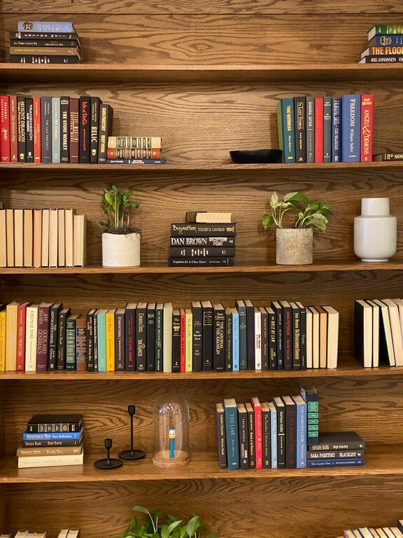 Open shelves - 6 ways to style them open shelves - Open shelves 6 ways to style them 4 - Open shelves – 6 ways to style them
