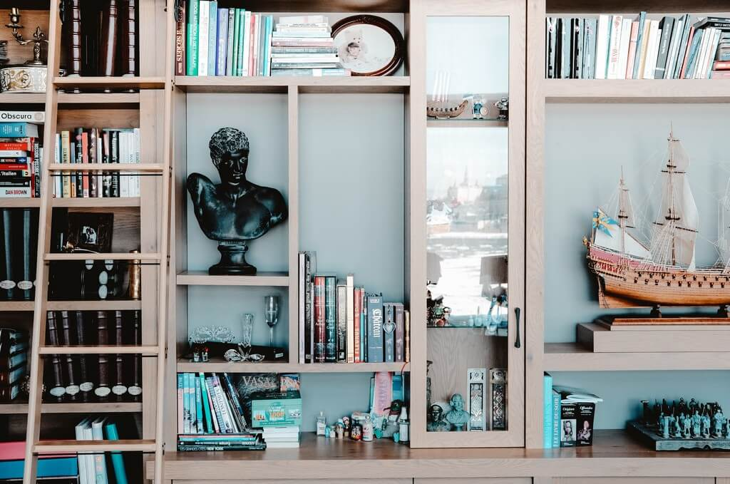 Open shelves - 6 ways to style them open shelves - Open shelves 6 ways to style them 8 - Open shelves – 6 ways to style them