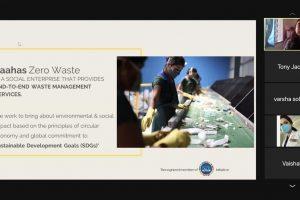 Saahas Zero Waste: Conv. Conversations at JD msc. in fashion and textile design - Saahas Zero Waste Conv - MSc. in Fashion and Textile Design – Singhania University – 2 Years