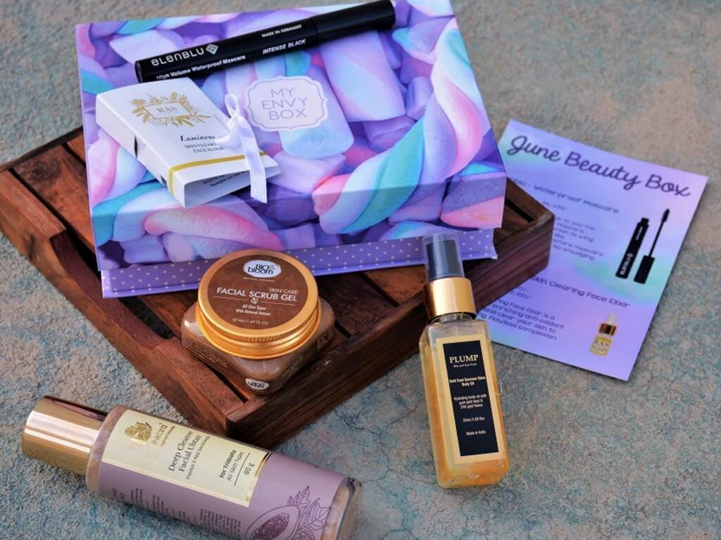 BEAUTY SUBCRIPTION BOXES: TOP 5! beauty subscription boxes - The Envy Box  - BEAUTY SUBSCRIPTION BOXES: TOP 5!