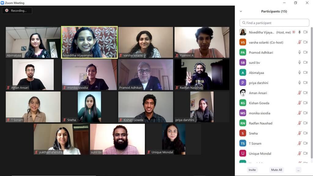 Student work - Tenzin Sonam's 'Nyima's Bakery' virtual jury - Virtual jury presenting the work of PGDFC 2020 batch students 4 - Virtual jury presenting the work of PGDFC 2020 batch students